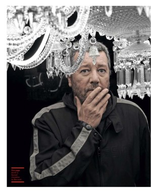 """ICON  French designer PHILIPPE STARCK launched 16 products full of trademark whimsy and trickery, but his """"real revolution"""" was a sofa designed for comfort. He talks with Mandi Keighran at the Salone Internazionale del Mobile in Milan."""